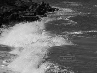 波頭の写真・画像素材[3488065]