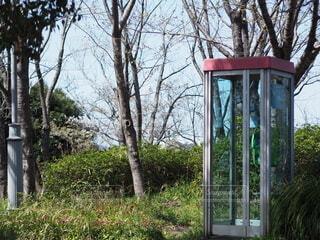 電話ボックスの写真・画像素材[4277233]
