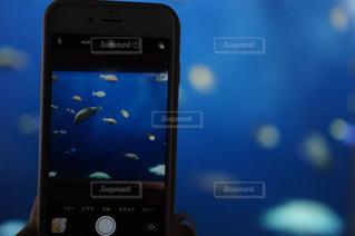 携帯電話の画面の写真・画像素材[3157365]