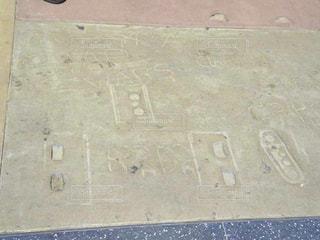 R2D2の足跡の写真・画像素材[3225043]
