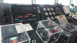 ミサイル艇の主機 コンソールの写真・画像素材[3156867]
