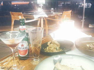 バリでの夕食の写真・画像素材[3157846]