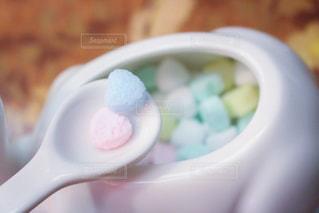 カラフルな角砂糖の写真・画像素材[3167882]