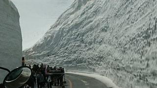 雪の大谷の写真・画像素材[3165205]