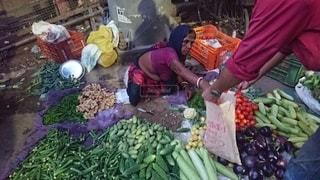 インドの町並みの写真・画像素材[3206514]