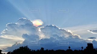 空の雲の群の写真・画像素材[3211666]