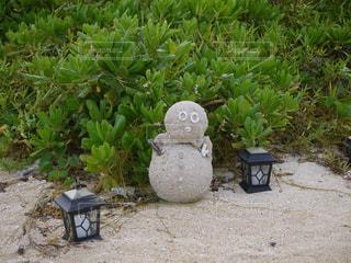 砂だるまの写真・画像素材[3164729]
