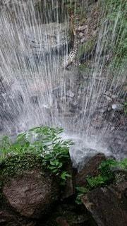 大きな滝の写真・画像素材[3165835]