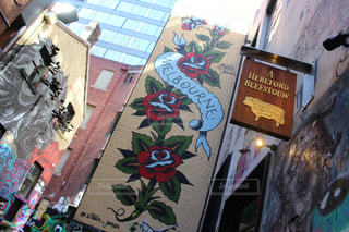 メルボルンのストリートアートの写真・画像素材[3167812]