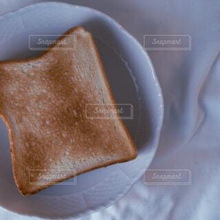 パンの端っこをクローズアップの写真・画像素材[4614532]