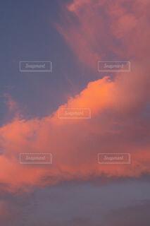 ピンク雲の写真・画像素材[4771512]