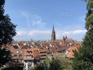 ドイツフライブルクの街並の写真・画像素材[3169179]