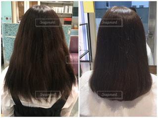 くせ毛の悩みを解消の写真・画像素材[3311633]