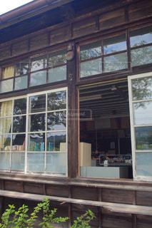 木造校舎 昭和の風景の写真・画像素材[3201381]