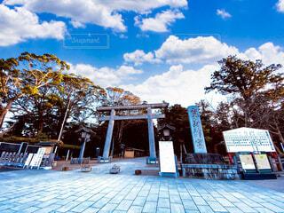 鹿島神宮 茨城県のパワースポットの写真・画像素材[3877537]