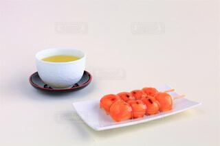 お茶とお団子の写真・画像素材[4546665]