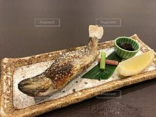 川魚の塩焼きの写真・画像素材[4688007]