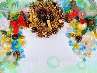 クリスマスの背景素材の写真・画像素材[4882454]