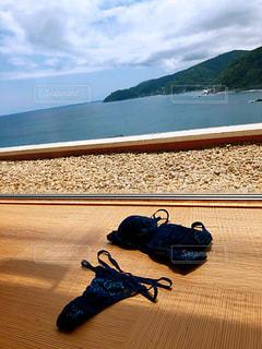 海を眺めの写真・画像素材[3370935]