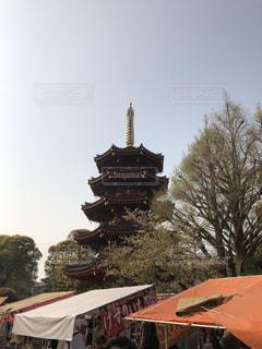 五重塔の写真・画像素材[3523734]