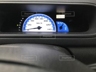 車のメーターの写真・画像素材[3212106]