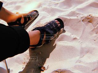 グアムの砂浜の写真・画像素材[3176449]