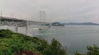 水の体に架かる橋の写真・画像素材[3178872]