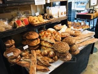 海外のパン屋さんの写真・画像素材[3178181]