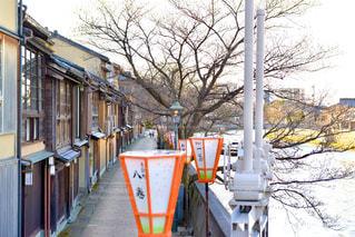 金沢主計町にての写真・画像素材[3183005]
