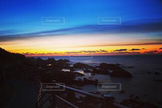 犬吠埼から日の出を眺めるの写真・画像素材[3186664]