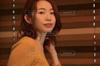 美しい女性の表情の写真・画像素材[3349946]
