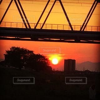 夕日の写真・画像素材[593265]
