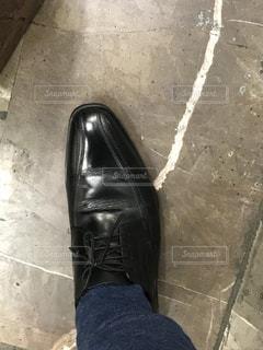 靴磨きの写真・画像素材[3183503]