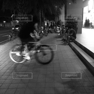 自転車の写真・画像素材[128018]