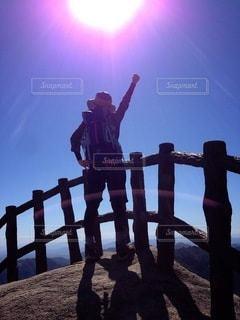山登りの写真・画像素材[3183017]
