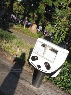 オートバイが道路の脇に駐車しているの写真・画像素材[3196239]
