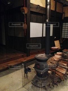 木製のテーブルの写真・画像素材[3201335]