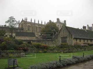 オックスフォード城の写真・画像素材[3186422]