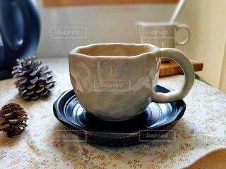 コーヒーを一杯入れるの写真・画像素材[3818460]