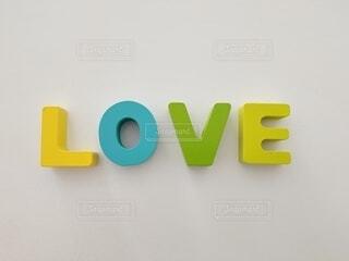 LOVEのロゴの写真・画像素材[4373375]