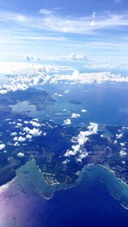 空から見た景色2の写真・画像素材[3185817]