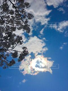 輝く雲の写真・画像素材[3187406]