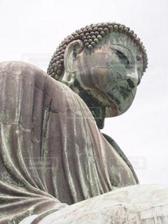 鎌倉の大仏さまの写真・画像素材[3193752]