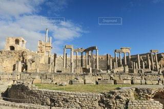 チュニジアの世界遺産の写真・画像素材[3195203]