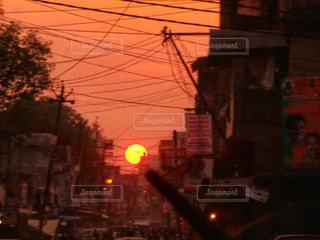 インドの夕暮れの写真・画像素材[3268471]