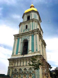 キエフのソフィア大聖堂の鐘楼の写真・画像素材[3272808]