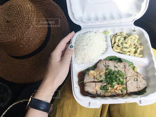 plate lunchの写真・画像素材[3213364]