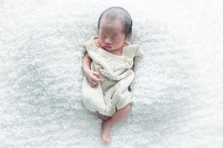newborn photoの写真・画像素材[3410839]