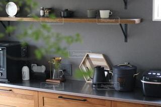 キッチンインテリアの写真・画像素材[3827737]