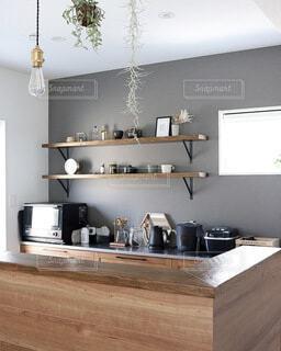 キッチンインテリアの写真・画像素材[3827755]